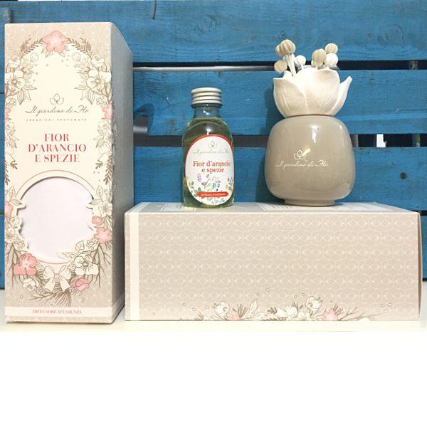Diffusore in ceramica rosa il giardino di fl nasoterapia hp italia neavita - Il giardino di gesso ...