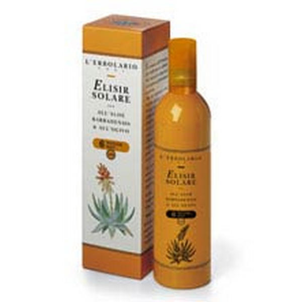 Elisir Solare All'Aloe Barbadensis e all'Olivo SPF 6
