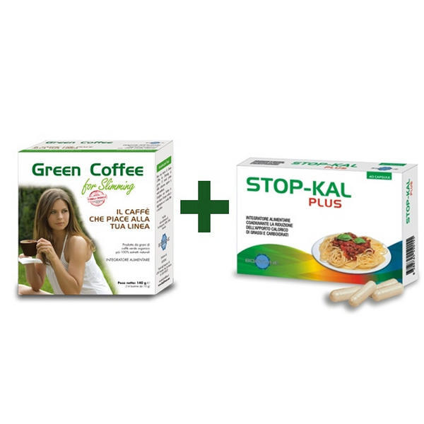 Green Coffee for slimming con Stop-Kal omaggio