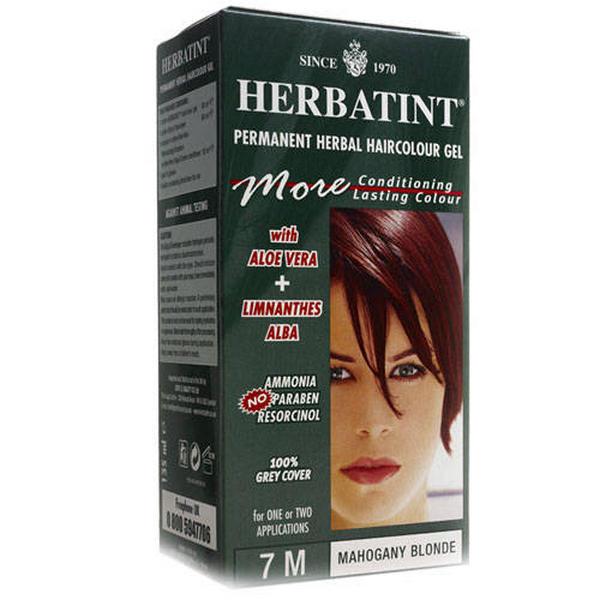 Tinta per capelli 7m biondo mogano herbatint - Tinta su capelli bagnati o asciutti ...