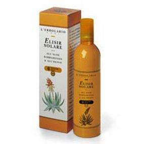 immagine di Elisir Solare All'Aloe Barbadensis e all'Olivo SPF 6