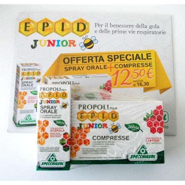 Epid Junior compresse + Spray orale Junior